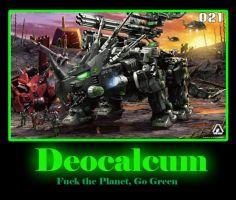 Zoids Motivational: Deocalcum by DGDSND01