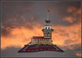 The Maiden's Tower by fisher57