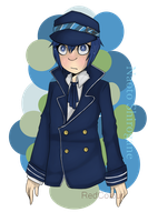 [REQUEST] Persona 4's Naoto Shirogane by RedTentacles