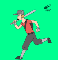 TF2 Scout Running Animation by Twisted4000