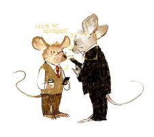 Mice of Interest by dugonism
