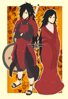 Madara and Misa by jhustinian