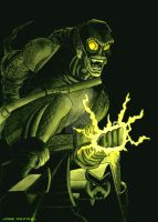 the Green Goblin by jrafaelnavarro