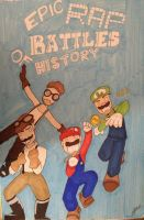 Mario Bros. VS Wright Bros. by Qoutex