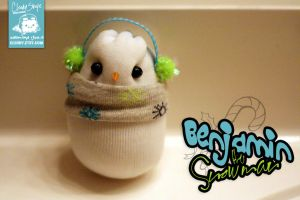 Benjamin the Snowman by cleody