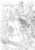 Jungle Girl by ednardo666