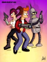 Futurama by AlanLizano