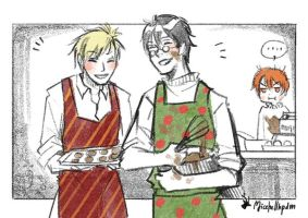Baking with Ron by MicehellWDomination