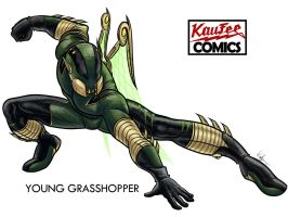 -Young Grasshopper- by Kaufee