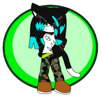 Gift:Spooks The Cat by CariNaviTheDog-Wolf