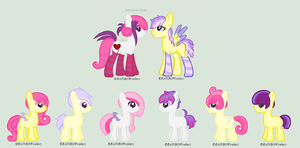 Cherished Rose Breeding Results 3  :OPEN: by HopeForTheFuture13