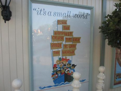 It's A Small World Poster by JoshuaOrro