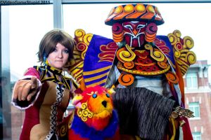 Anime Boston 2015 - Trainer and Guardian(PS) 01 by VideoGameStupid