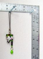 Camo panda cell charm by funkyfunnybone