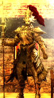 Dragonslayer Ornstein by guywiththesuitcase