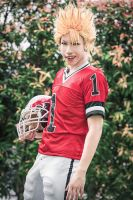 Eyeshield 21 - Hiruma Yoichi by Shazzsteel