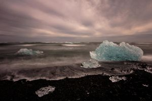 Iceland Ice by Neo--Art