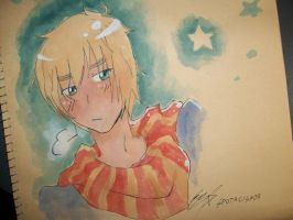 Le Watercolour Iggy by SpottyHiro