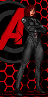 Avengers Assembled - The Black Widow by Sailmaster-Seion
