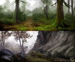 Landscape studies 091213 by Noukah