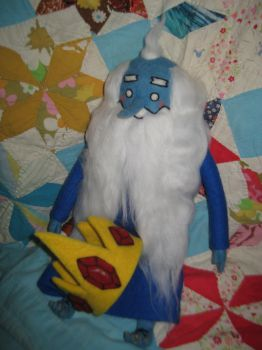 My Needle Felted Ice King by CatsFeltLings