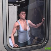 Ripley after LV426 by vatorx