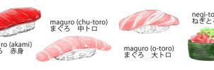 Maguro by Chocobosh
