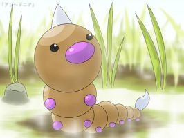 Weedle - Grasslands by roddz-art