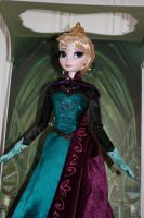 My Limited Edition Elsa Doll in the box by ArtOfNightSky