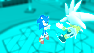 Sonic VS. Venice - Battle in the Psychic Realm by MephistaTheDark