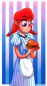 Wendy and Burgie by azulmimi99