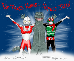 We Three Kings of Heroes Japan by ryuuseipro
