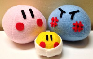 Clannad Dango Family Plushies~ by Harukuma