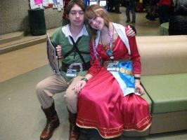 I-CON 31 -06 Link And Zelda by IoniaFreak