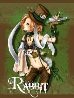 rabbit by yaminolady