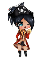 GenevereNixon's Chibi Commission #5:. 8/2/12 by EATMYEGGROLLS