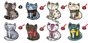 Pixel Adopts 17: CLOSED by Sergle