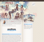 Blog Layout - Sweeney Todd by elliria