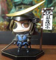 004 One coin figure - Date Masamune by Shienee