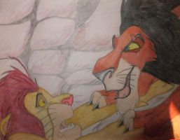 Lion King drawing by chloesmith8