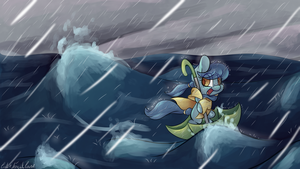 Angry Seas by CutePencilCase