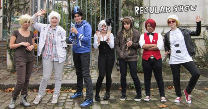 Regular Show Cosplay by KawaiCriminalmind