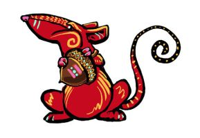 Red Rat by ursulav