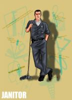 scrubs . JANITOR by sahinduezguen