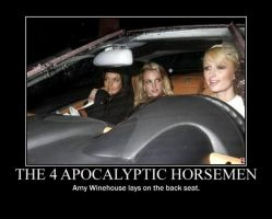 Poster - THE 4 APOCALYPTIC HORSEMEN by E-n-S