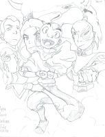 the gangs all here besides momo by KHSoraCentral1997