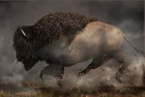Thunderbeast by deskridge