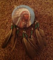 Native American drum by DrCrazyWolf