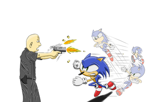 Sonic - Dodge This by Explodering