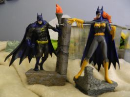 Japanese Import Batman/Batgirl Opened by Champineography